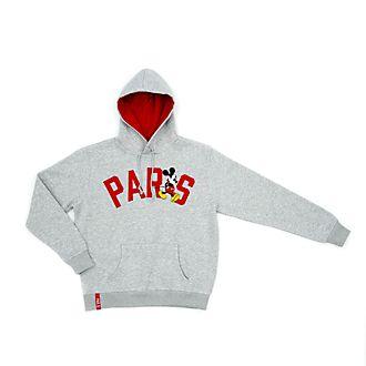 Disney Store - Micky Maus - Paris Kapuzensweatshirt für Erwachsene