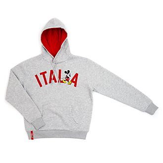 Disney Store Mickey Mouse Italia Hooded Sweatshirt for Adults
