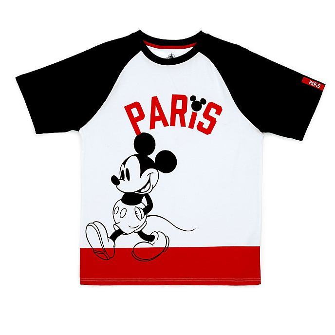 Disney Store Mickey Mouse Paris T-Shirt for Adults