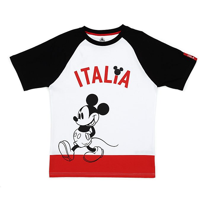 Disney Store Mickey Mouse Italia T-Shirt for Adults