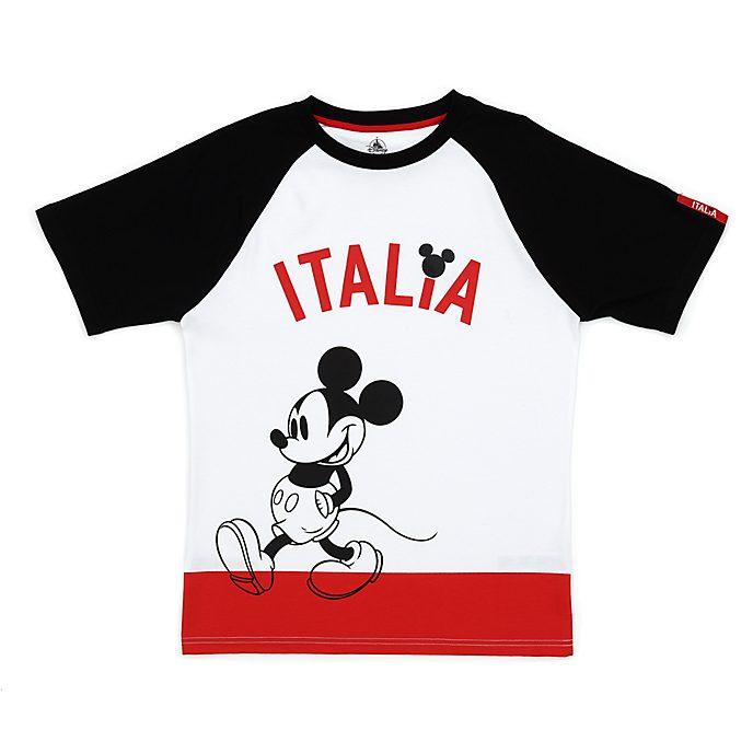 Camiseta Italia Mickey Mouse para adultos, Disney Store