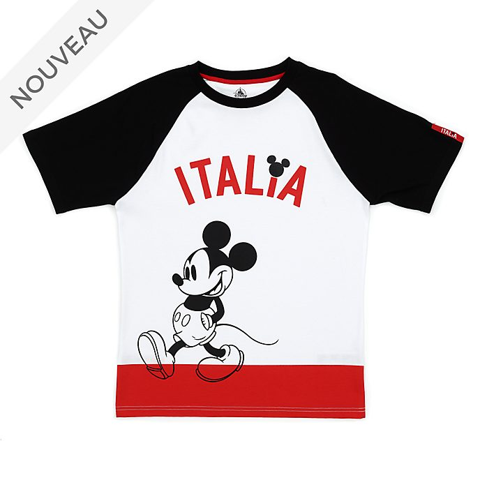 Disney Store T-shirt Mickey Italie pour adultes