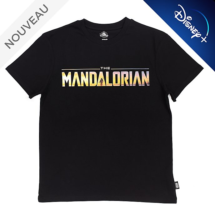 Disney Store T-shirt The Mandalorian T-Shirt pour adultes, Star Wars