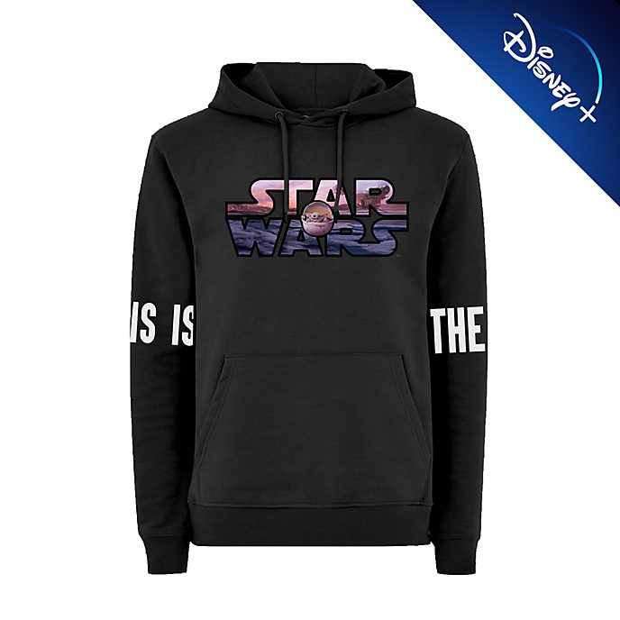 Disney Store The Mandalorian Hooded Sweatshirt For Adults