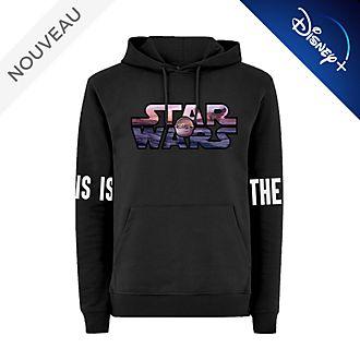 Disney Store Sweatshirt à capuche The Mandalorian pour adultes