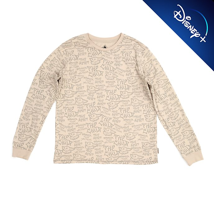 Disney Store The Child Long Sleeved T-Shirt For Adults, Star Wars