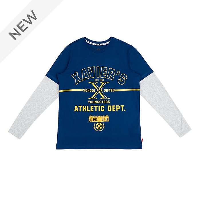 Disney Store X-Men Long Sleeved T-Shirt For Adults