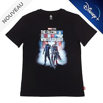 Disney Store T-Shirt Falcon et le Soldat de l'hiver pour adultes