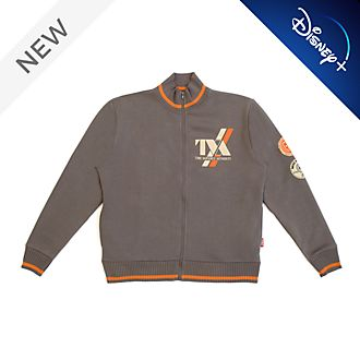 Disney Store Loki Time Variance Authority Zip-Up Jacket For Adults