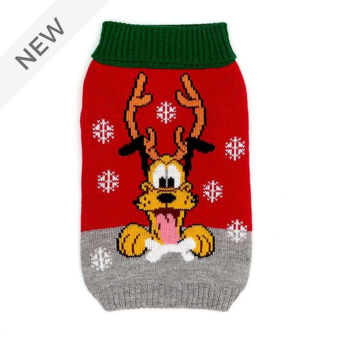 Disney Store Pluto Holiday Cheer Christmas Jumper For Pets