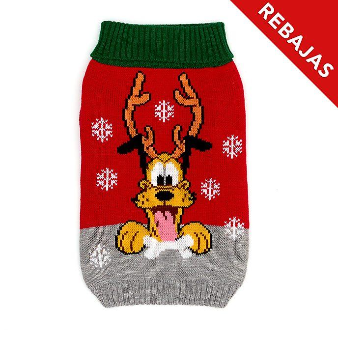 Jersey navideño mascotas Pluto, Holiday Cheer, Disney Store