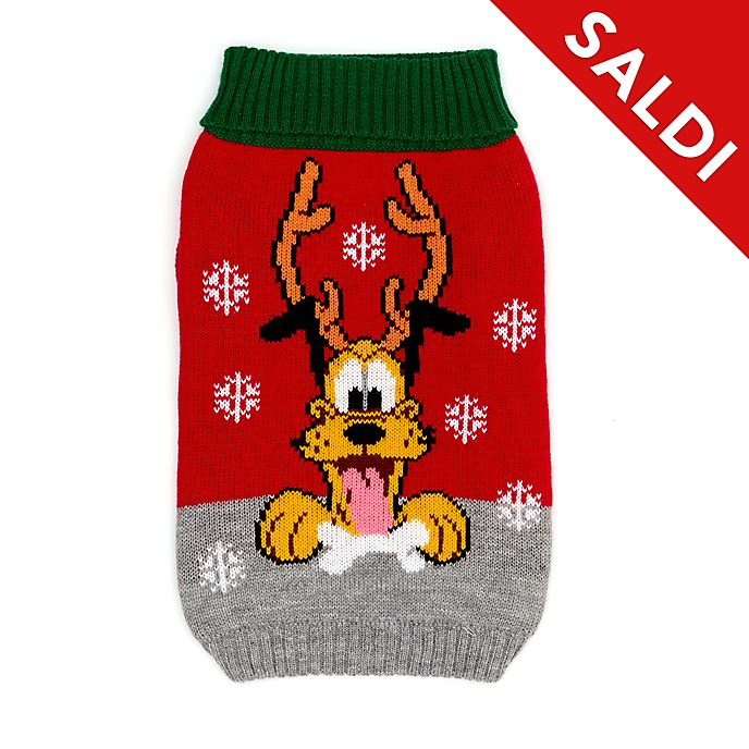 Maglione natalizio animali domestici Holiday Cheer Pluto Disney Store