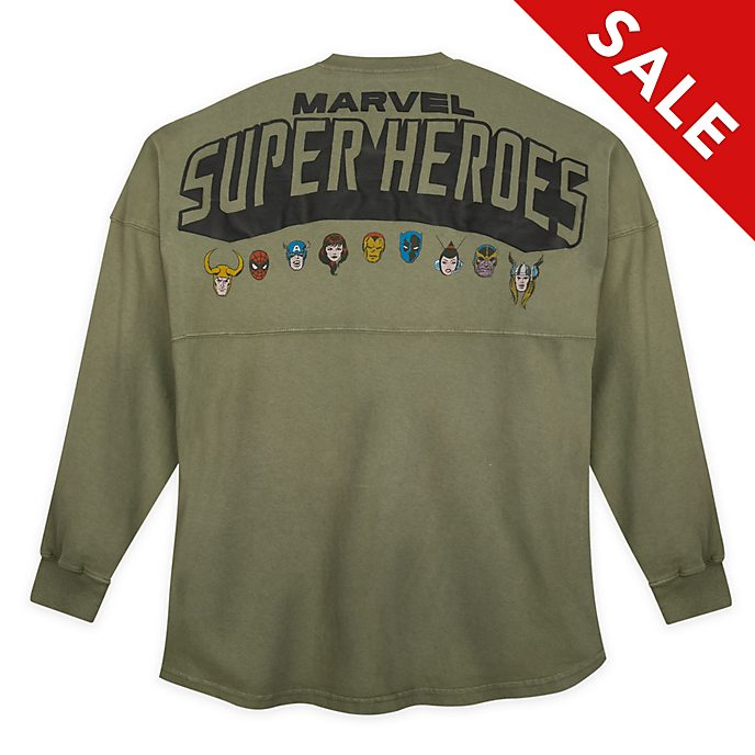 Disney Store Marvel Comics Spirit Jersey For Adults