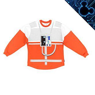 Sudadera universitaria Spirit Jersey para adultos piloto Ala-X, Star Wars, Disney Store