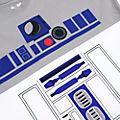 Disney Store - Star Wars - R2-D2 - Spirit Jersey für Erwachsene