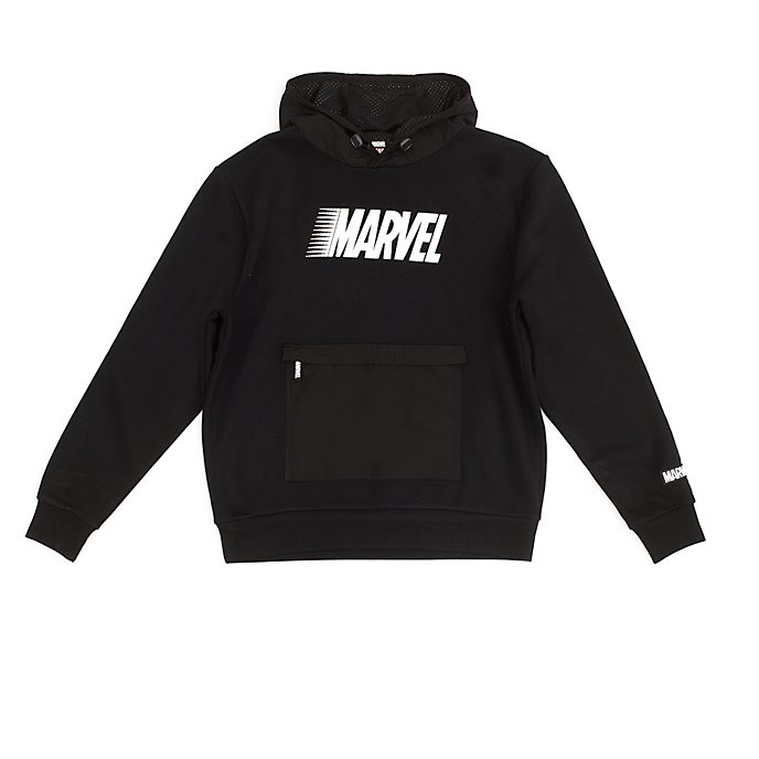 Disney Store Sweat à capuche Marvel noir pour adultes