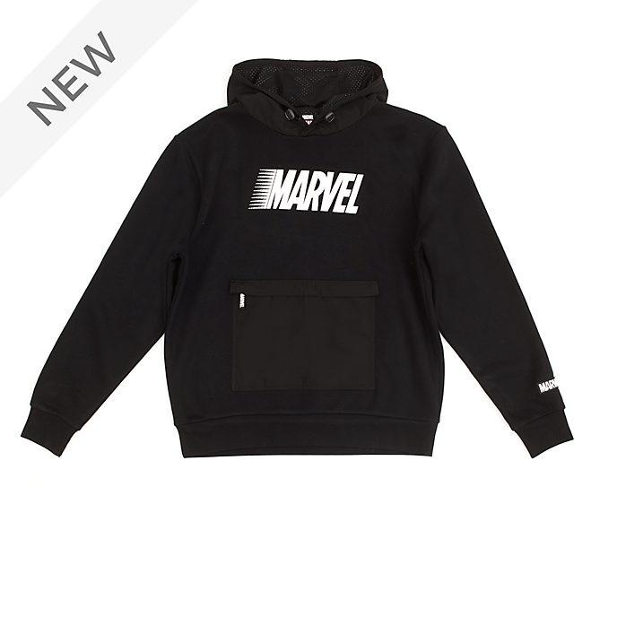 Disney Store Marvel Black Hooded Sweatshirt For Adults