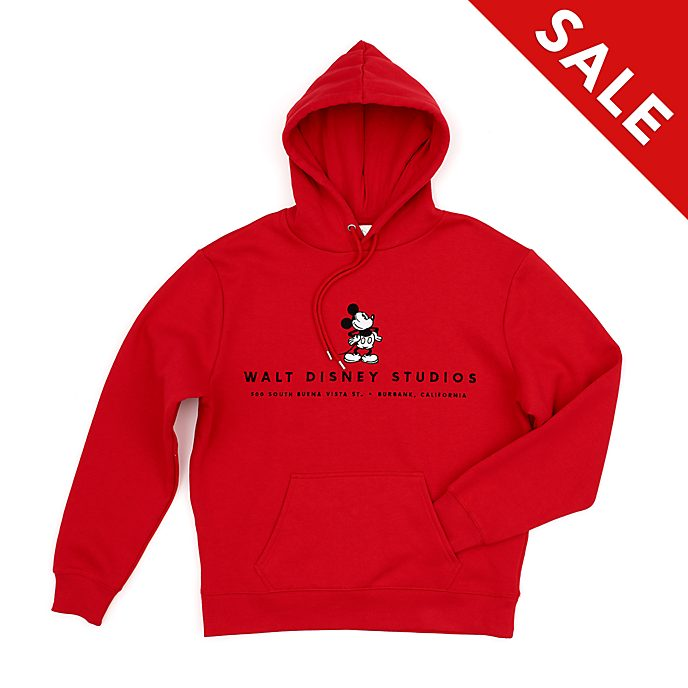 Disney Store Walt Disney Studios Hooded Sweatshirt For Adults