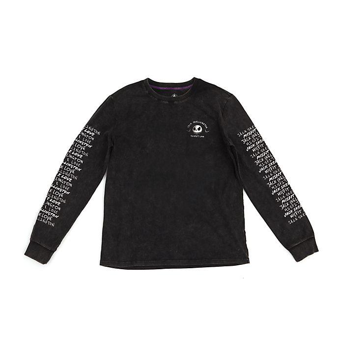 Disney Store - Jack Skellington - langärmeliges T-Shirt für Erwachsene