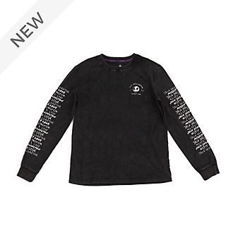 Disney Store Jack Skellington Long-Sleeved T-Shirt For Adults