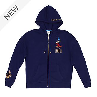 Disney Store Fantasia Hooded Sweatshirt For Adults