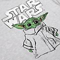 T-shirt Dessin de L'Enfant pour adultes, The Mandalorian