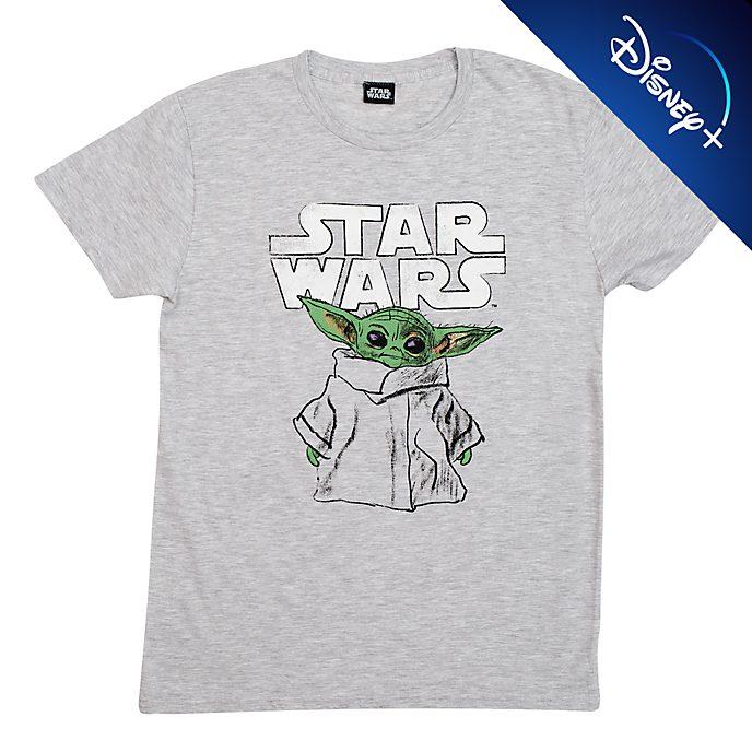 Star Wars: The Mandalorian - Das Kind - T-Shirt mit skizzenartigem Motiv für Erwachsene
