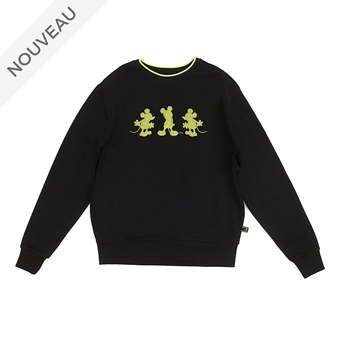 Disney Store Sweat Mickey Mouse: Neon Festival pour adultes