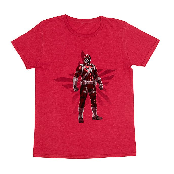 Disney Store T-shirt Red Guardian pour adultes, Black Widow