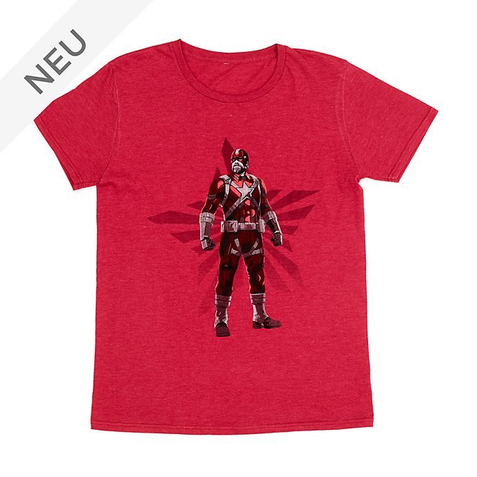 Disney Store - Red Guardian - T-Shirt für Erwachsene - Black Widow