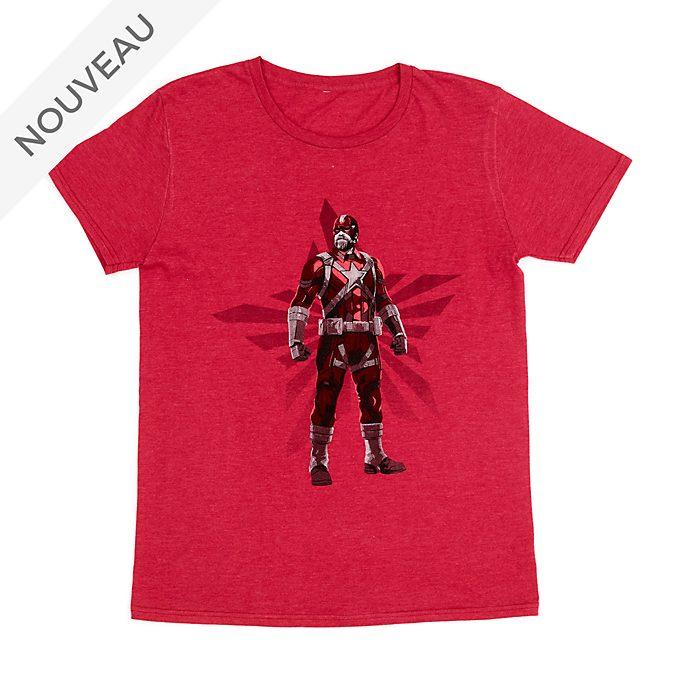 Disney Store T-shirt Red Guardian pour adultes, Black Widow