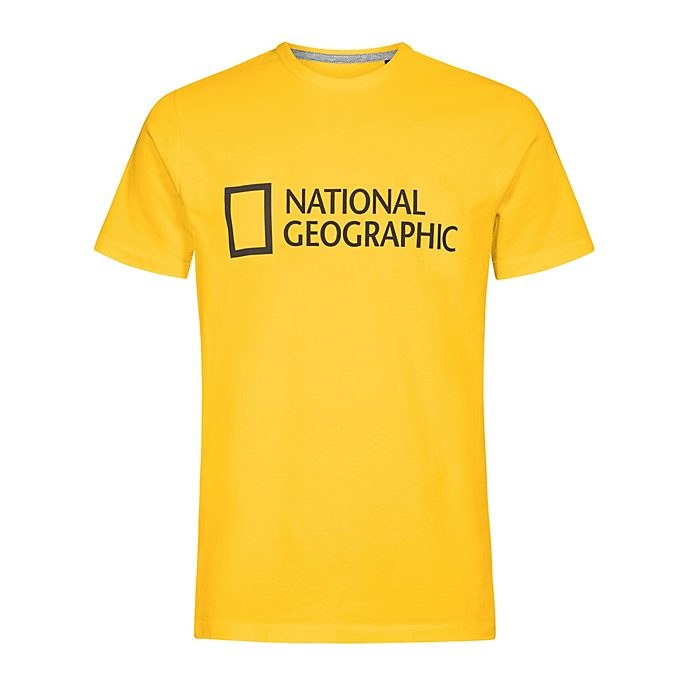 Disney Store National Geographic Yellow T-Shirt For Adults