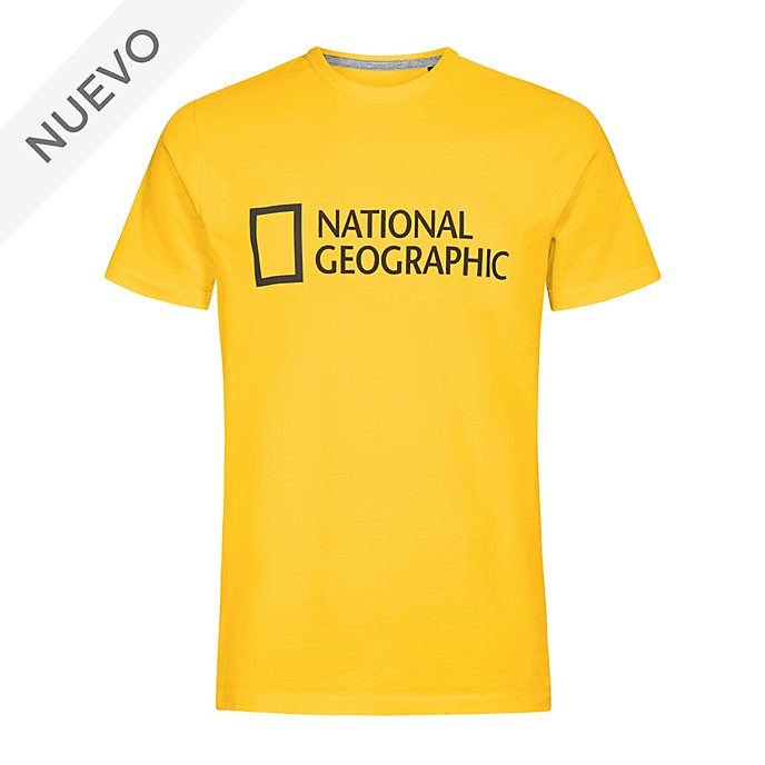Camiseta amarilla National Geographic para adultos, Disney Store