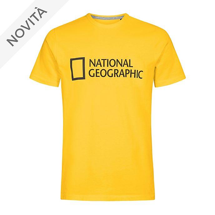 Maglietta adulti National Geographic gialla Disney Store
