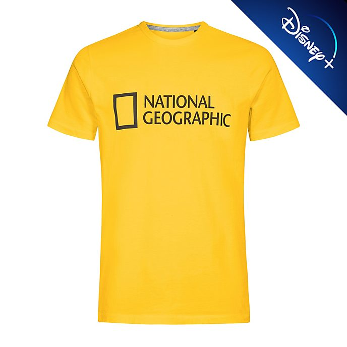 Disney Store T-shirt National Geographic jaune pour adultes