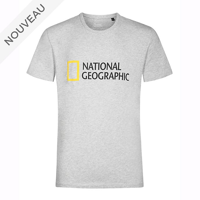 Disney Store T-shirt National Geographic blanc pour adultes