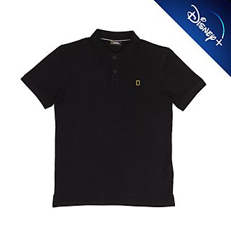 Disney Store National Geographic Black Polo Shirt For Adults