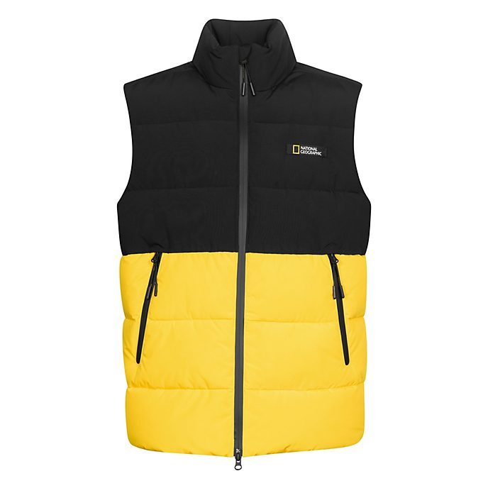 Disney Store National Geographic Yellow Gilet For Adults