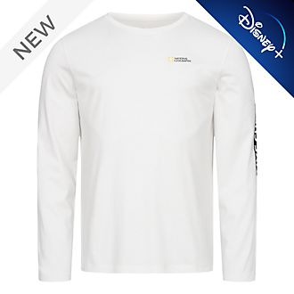 Disney Store National Geographic Long Sleeved T-Shirt For Adults