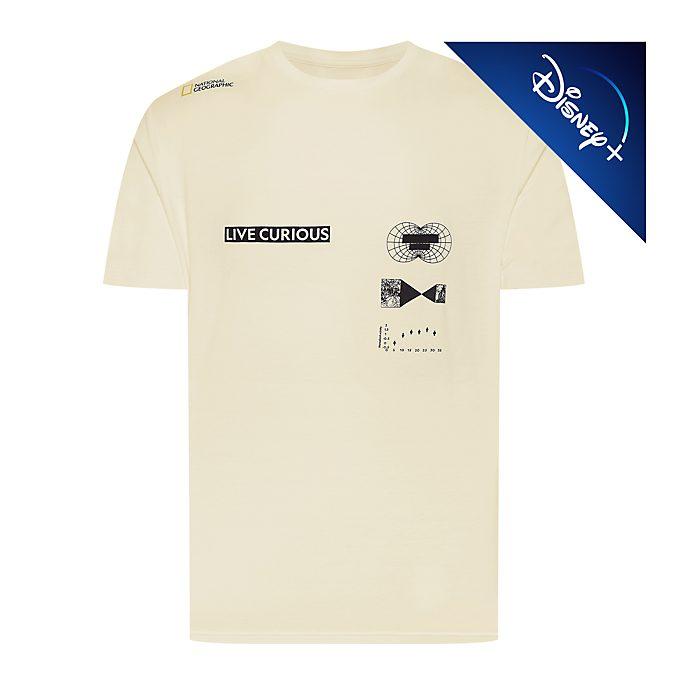 "Disney Store T-shirt National Geographic ""Live Curious"" pour adultes"