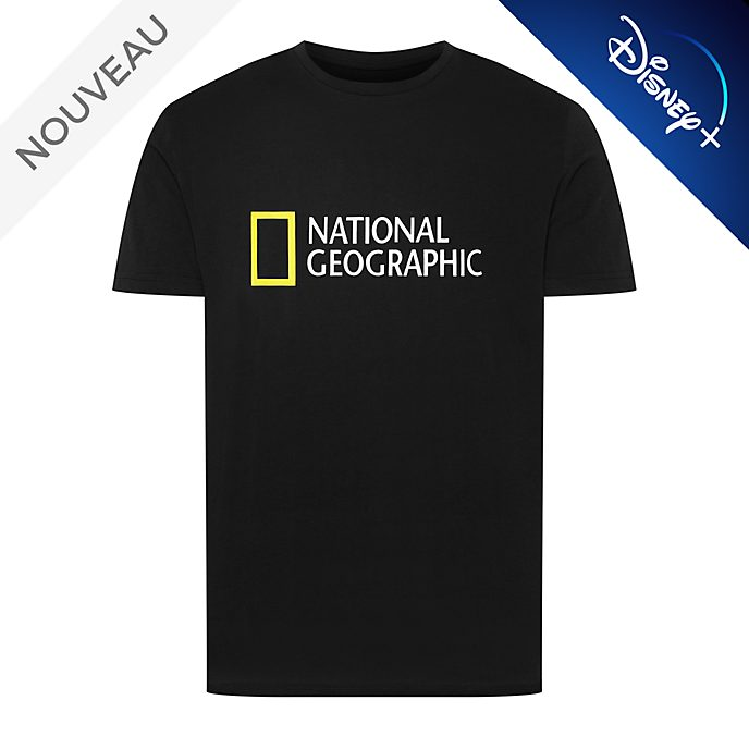 Disney Store T-shirt National Geographic noir pour adultes