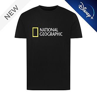 Disney Store National Geographic Black T-Shirt For Adults