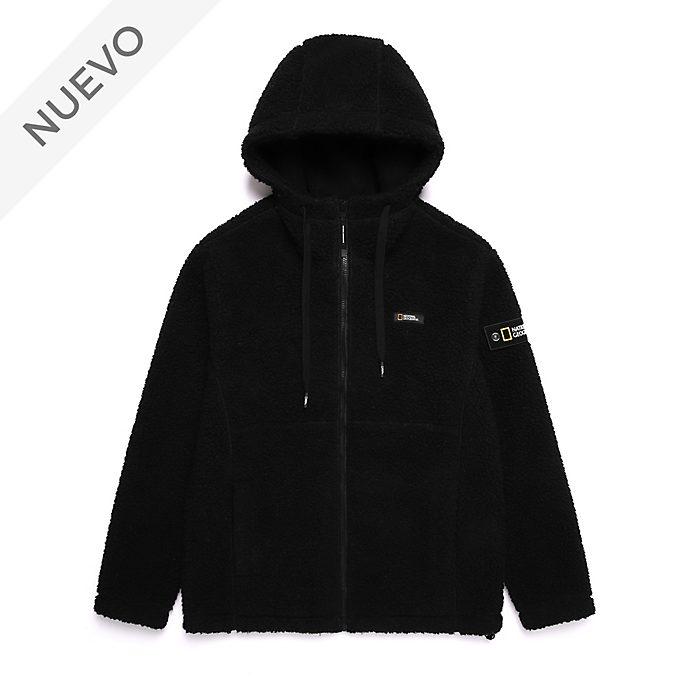 Suéter lana negro con capucha National Geographic para adultos, Disney Store