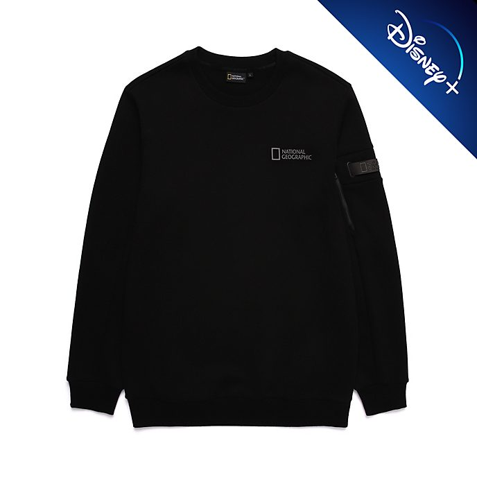Disney Store National Geographic Black Sweatshirt For Adults