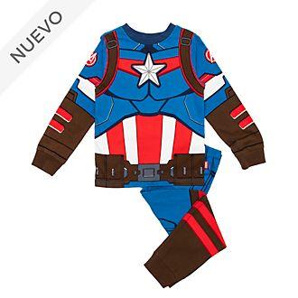Pijama infantil tipo disfraz Capitán América, Disney Store