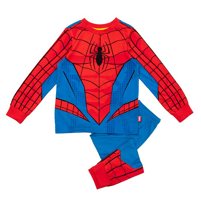 Disney Store Spider-Man Costume Pyjamas For Kids