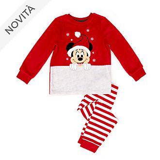 Pigiama morbido bimbi Topolino Holiday Cheer Disney Store