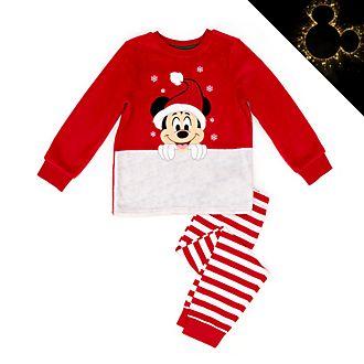 Disney Store - Holiday Cheer - Micky Maus - Flauschiger Pyjama für Kinder