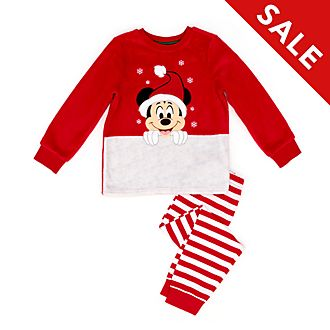 Disney Store - Holiday Cheer - Micky Maus - Flauschiger Pyjama für Kinder