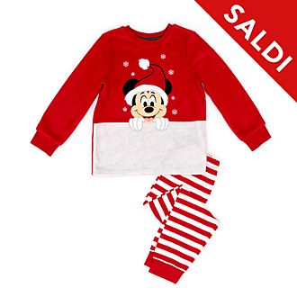 Pigiama morbido bimbi Topolino Holiday Cheer Disney Store